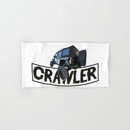 Offroad Scale rc cars a Crawling rock crawler car Edit Hand & Bath Towel
