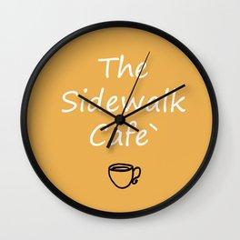 The Sidewalk Cafe Wall Clock