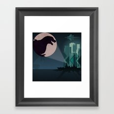 Payback Time  2014 godzilla  Framed Art Print