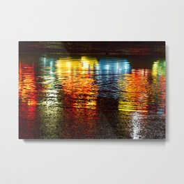 Reflections of the Fair Metal Print