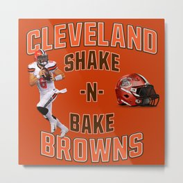 Shake n Bake  Browns Metal Print