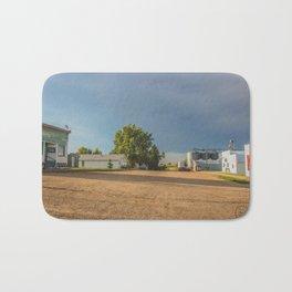 Stormy Main Street, Benedict, North Dakota 1 Bath Mat