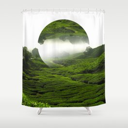 Green Haven Shower Curtain