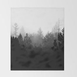 BLACK FOREST Throw Blanket