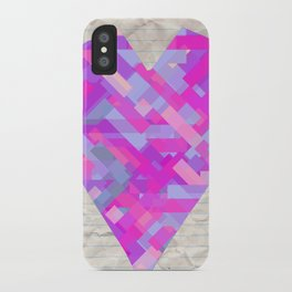 made with love iPhone Case