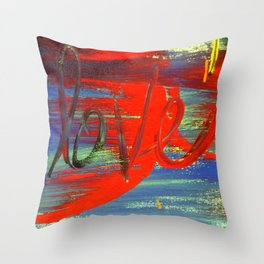 Love is Bold Throw Pillow