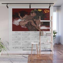 2020 Calendar/ Planner (UK), The Lovers Wall Mural