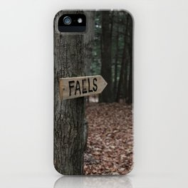 Falls > iPhone Case