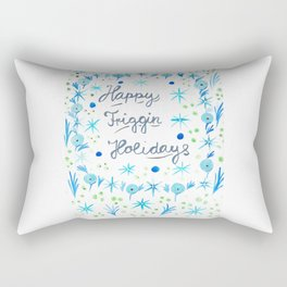 Happy Friggin Holidays Rectangular Pillow