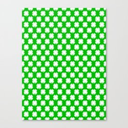 Clover Tited Canvas Print