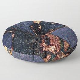 GEMSTONE & GOLD INDIGO Floor Pillow