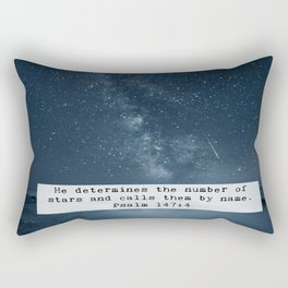 Counts the Stars Rectangular Pillow