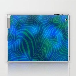 Zebra goes underwater Laptop & iPad Skin