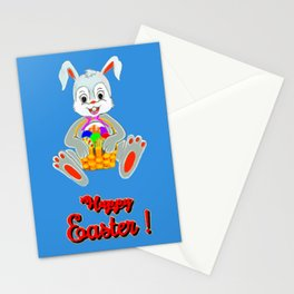 Happy Easter Bunny Stationery Cards
