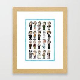 Bills Bills Bills Framed Art Print