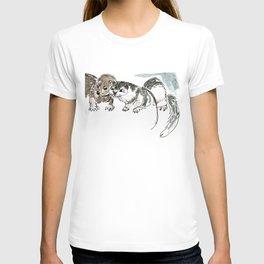 Two American minks T-shirt