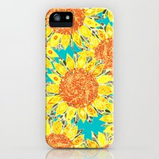 sunflower field iPhone (5, 5s) Slim Case
