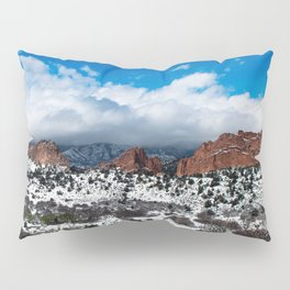Garden of the Gods in Snow Pillow Sham