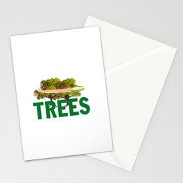 Splittin' Trees Funny Disc Golf Stationery Cards