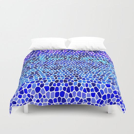 THINK BLUE Duvet Cover