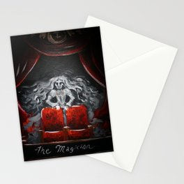 The Magician   Tarot Card Painting Stationery Cards
