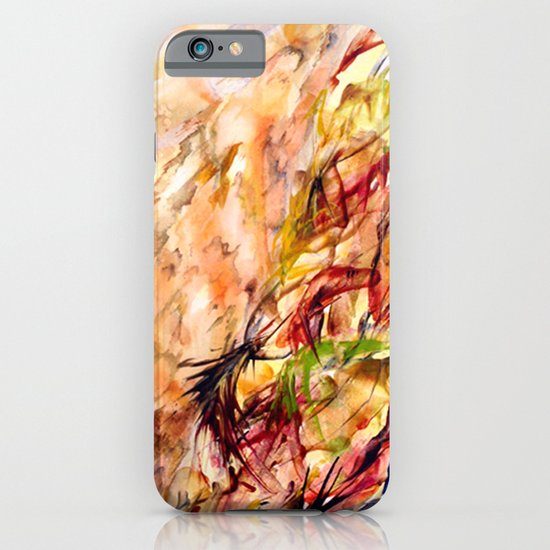 Autumnal Dialog iPhone & iPod Case