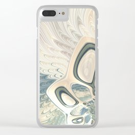 On a Windswept Sea Clear iPhone Case