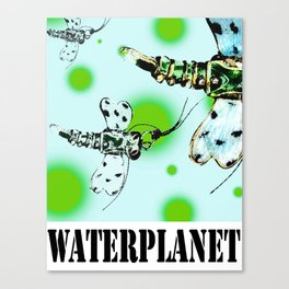 WATERPLANET: Dragonfly Canvas Print