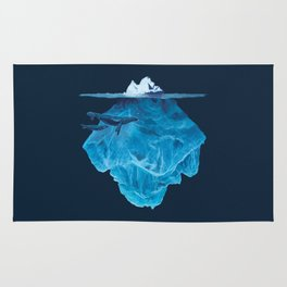 In the deep (iceberg) Rug