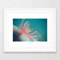 School Break Flower Framed Art Print