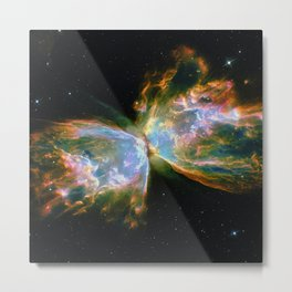 Butterfly Nebula Metal Print