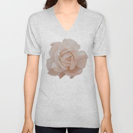 DUSKY ROSE Unisex V-Neck