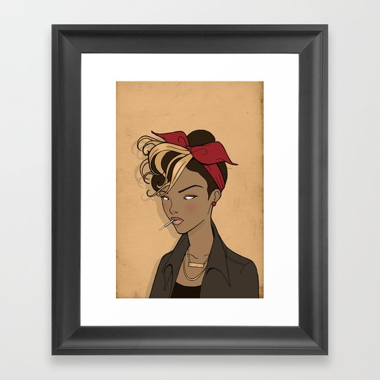 Out come the wolves Framed Art Print