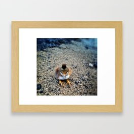 Paradise Chick Framed Art Print