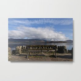 Have a seat, Loch Lomond Metal Print