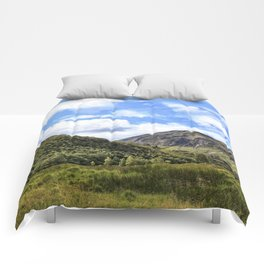 A walk in the Scottish Highlands, Glencoe. Comforters
