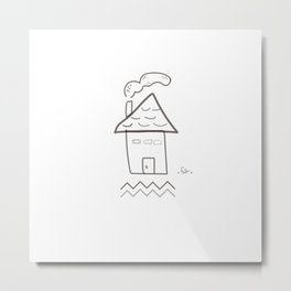 Sweet Home Metal Print