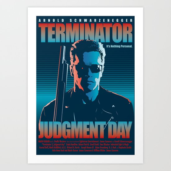 Terminator 2 - Alternative Poster Art Print