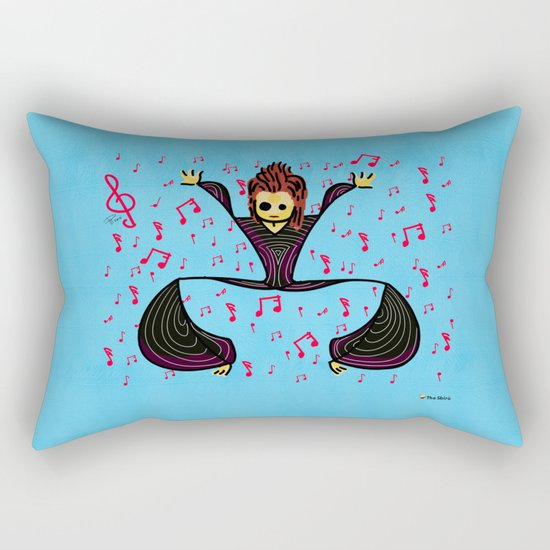 David tribute Rectangular Pillow