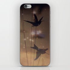 Hummingbird Galaxy iPhone & iPod Skin