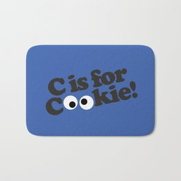 C is for Cookie Bath Mat