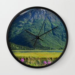 July at Tern Lake Wall Clock