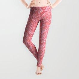 Coral Texture Leggings
