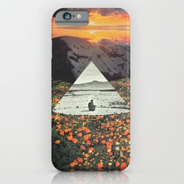 Harmony with flowers iPhone Case