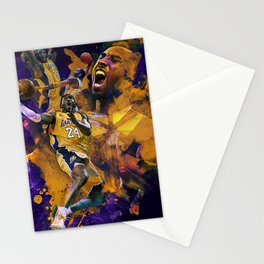 Lakers Legend Stationery Cards
