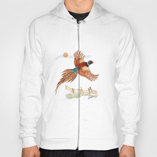 male pheasant Hoody