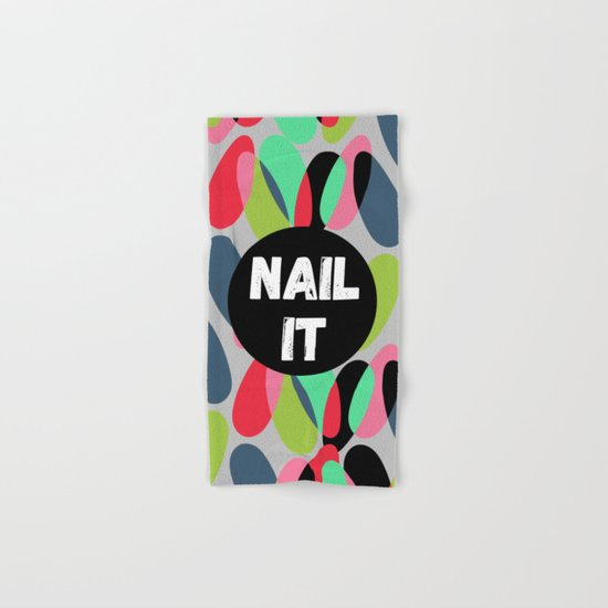 Nail It Hand & Bath Towel