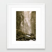 new zealand Framed Art Prints featuring New Zealand by Emilie Ruth