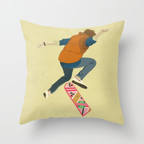 McFly Throw Pillow