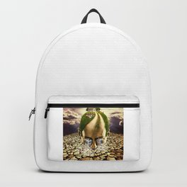 Inhabited Head Backpack